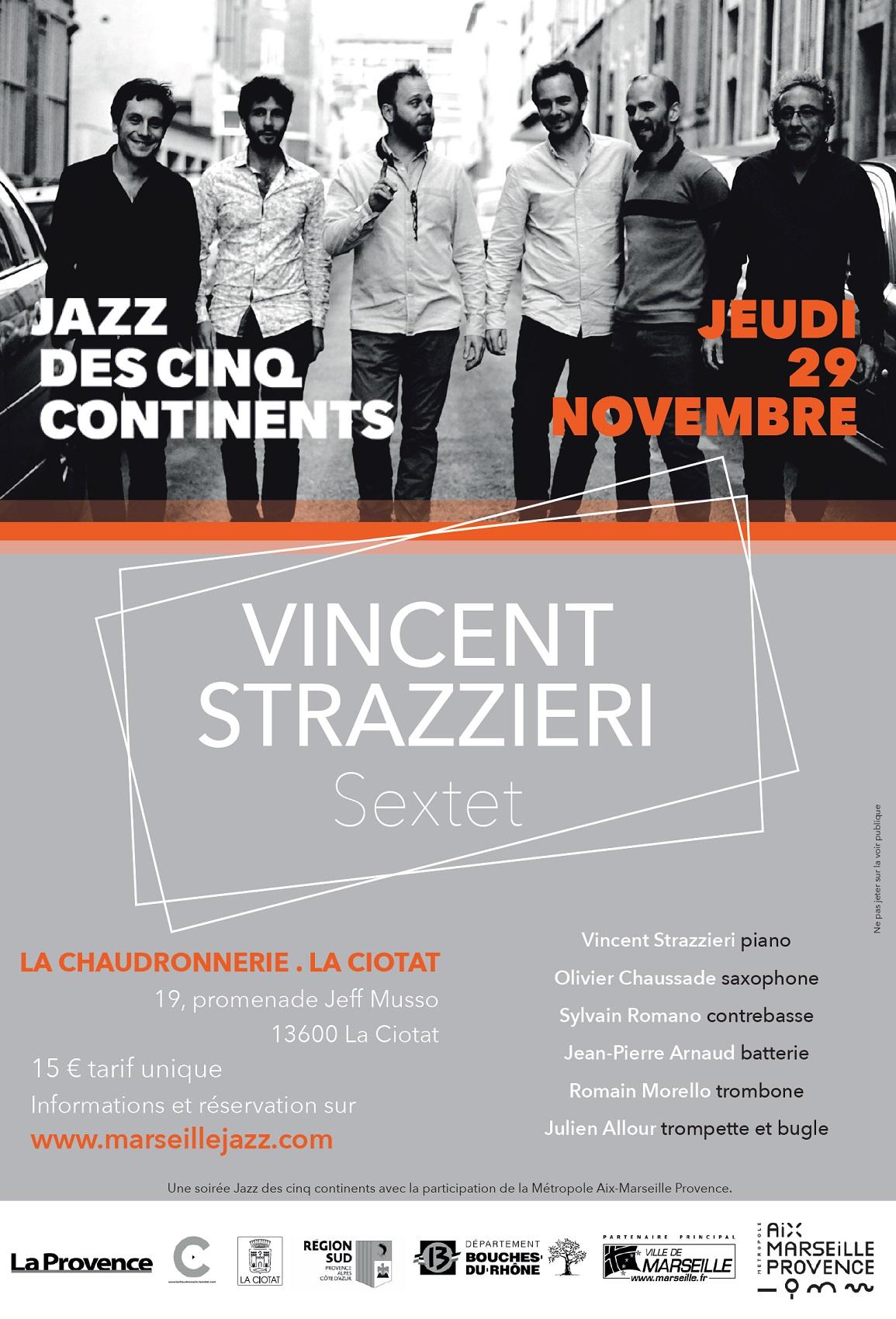 Affiche Concert Strazzieri