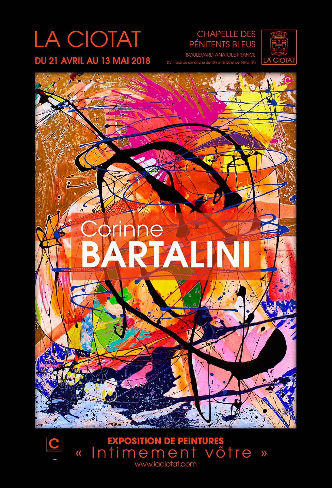 Affiche Exposition Bartalini 2 2018