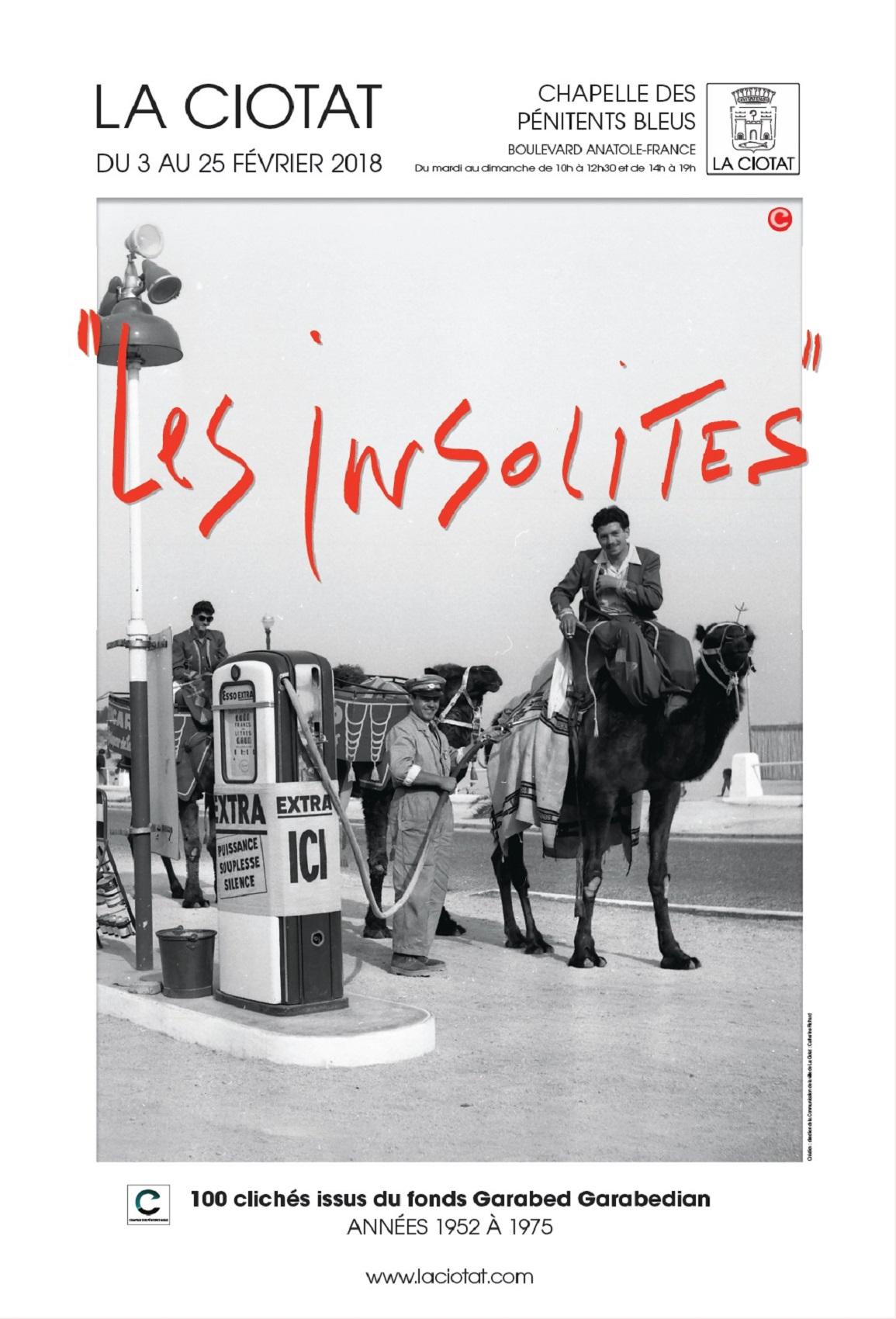 Affiche Exposition Les Insolites