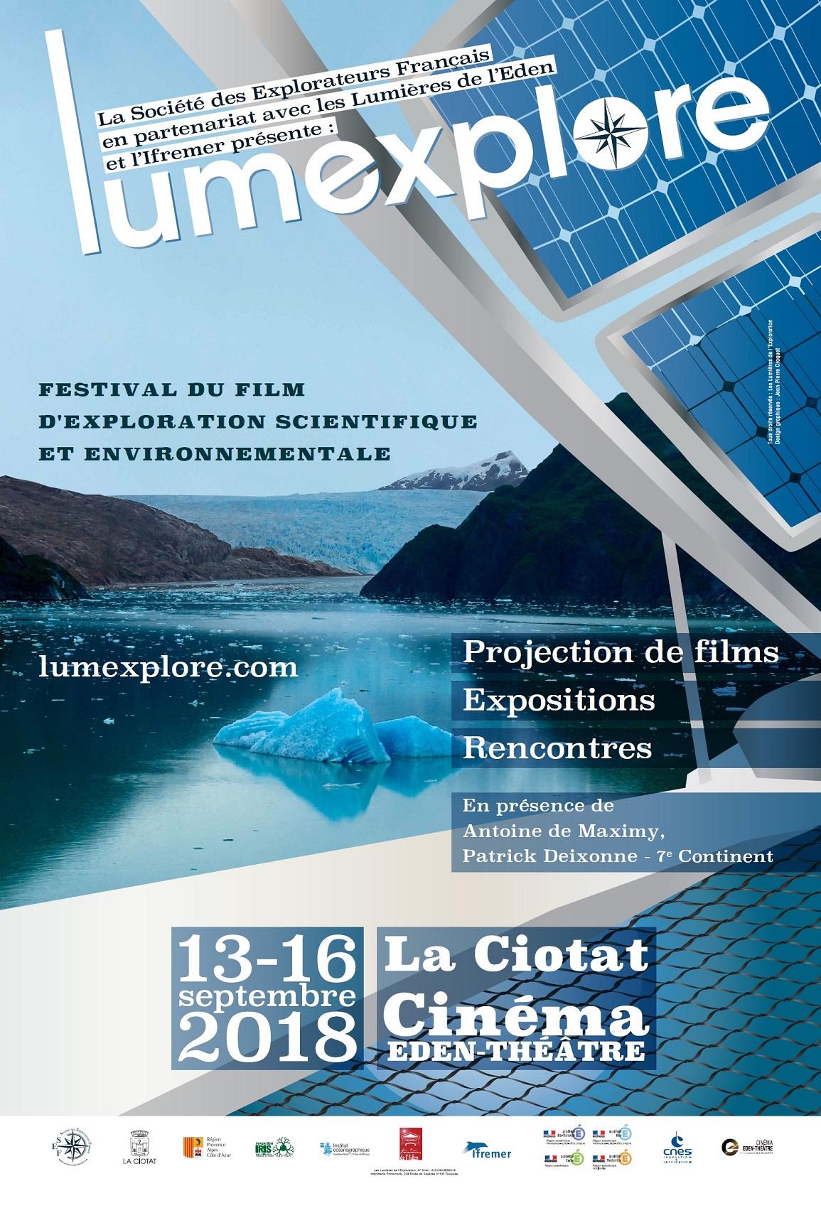 Affiche Festival Lumexplore 2018