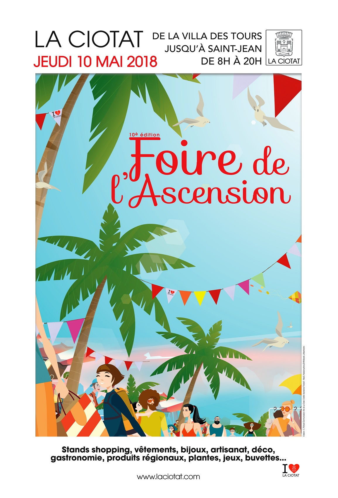 Affiche Foire de l'Ascension 2018