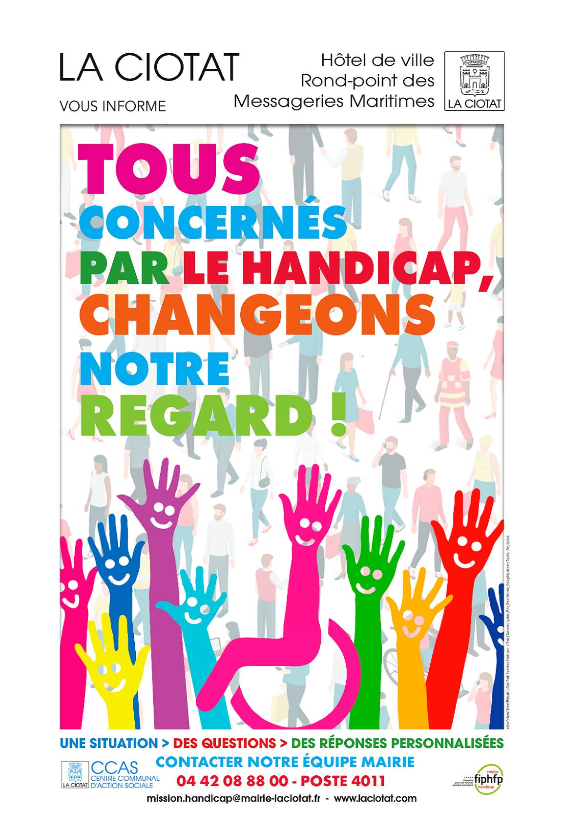 Affiche Forum Handicap