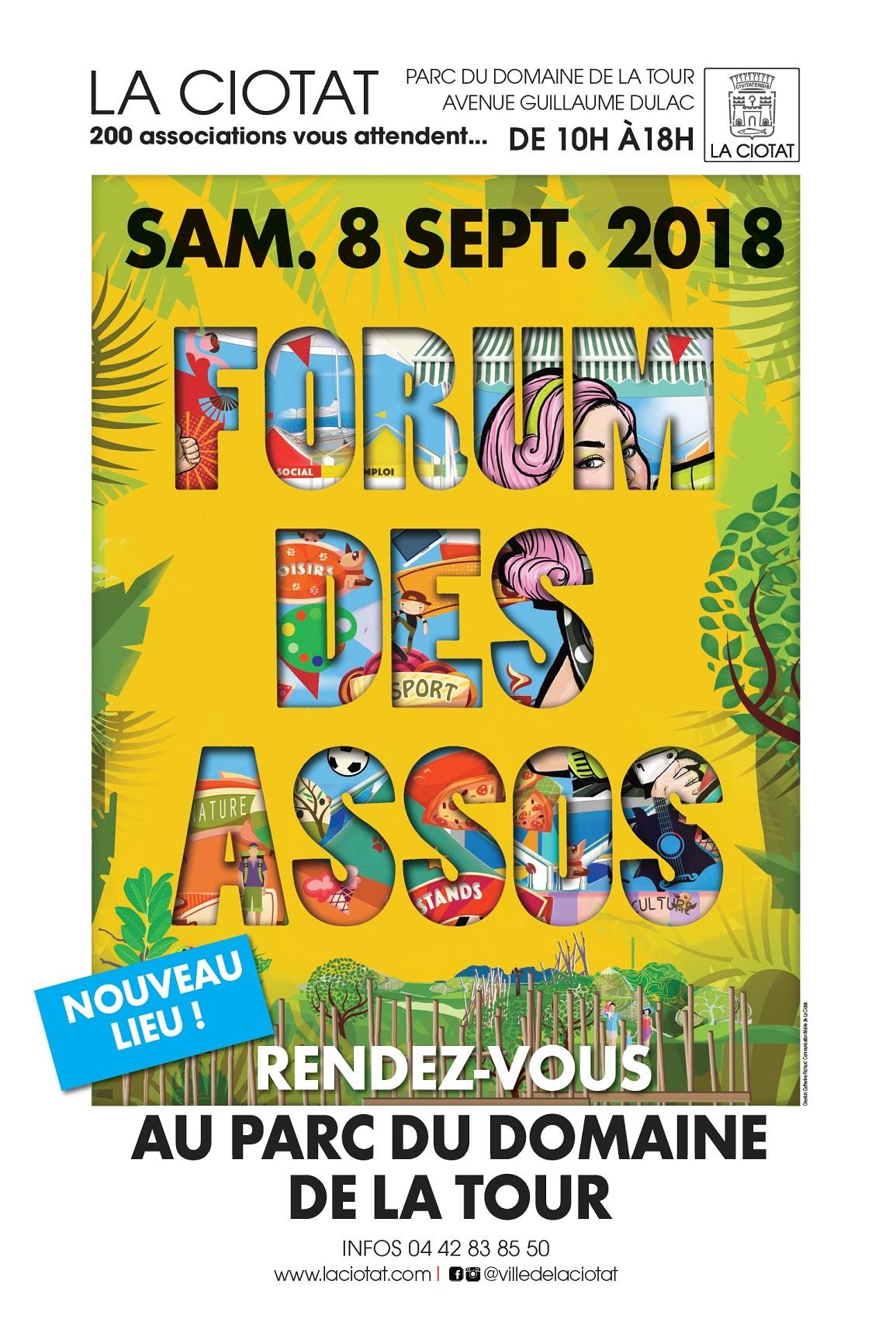 Affiche Forum des assos 2018