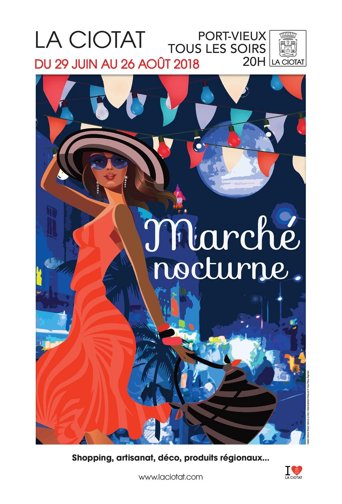Affiche Marche Nocturne 2018