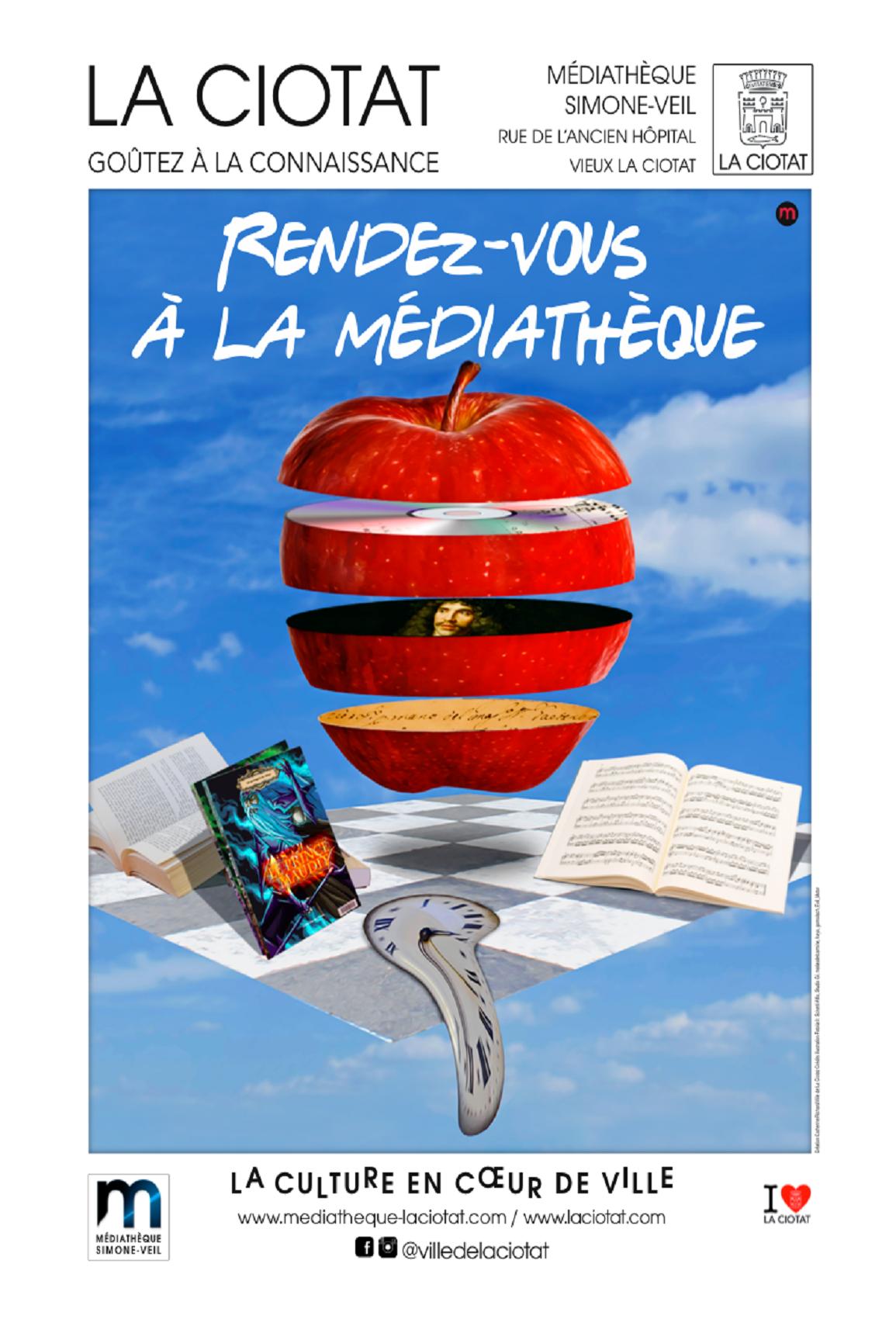 Affiche Mediatheque 2018