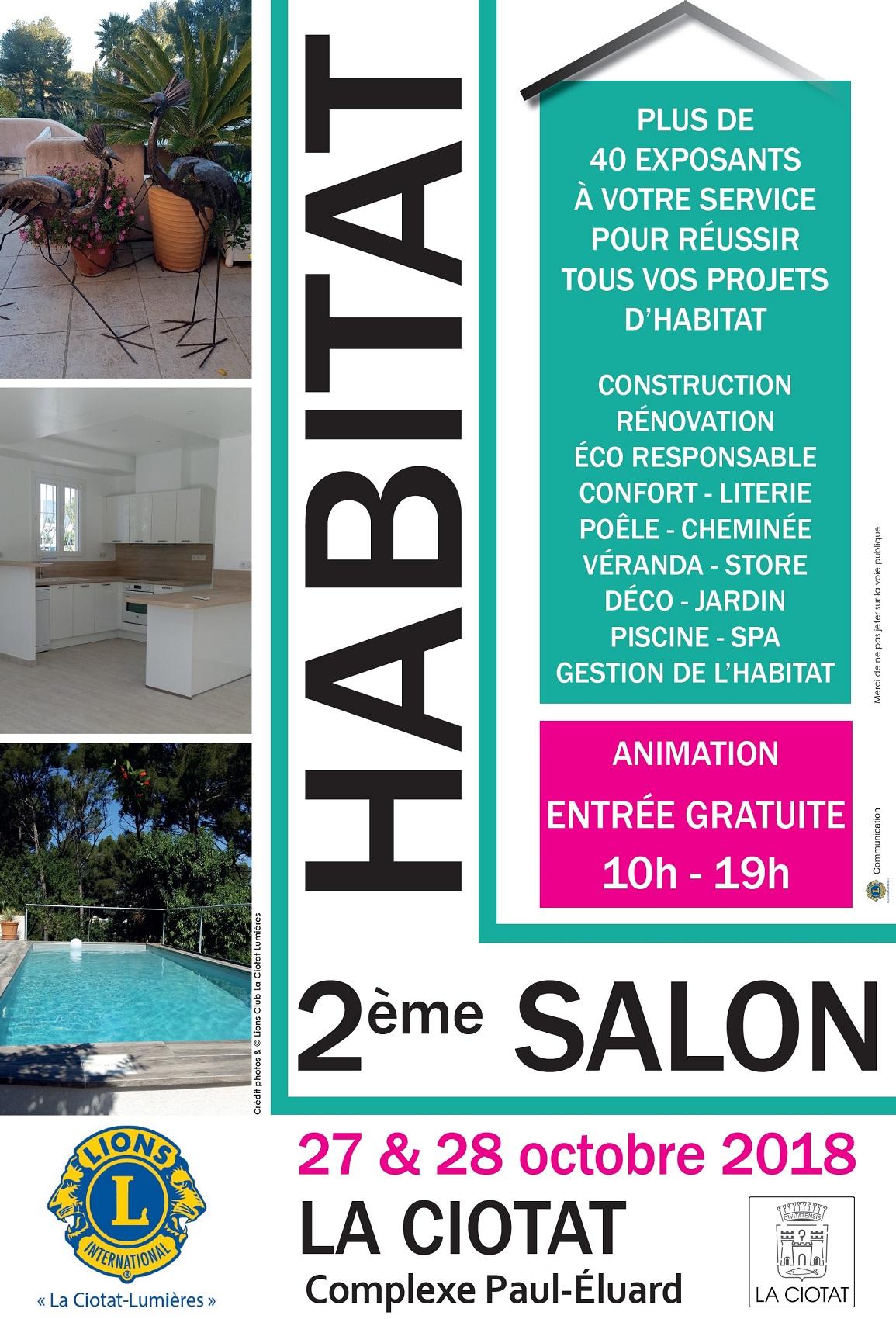 Affiche Salon Habitat 2018