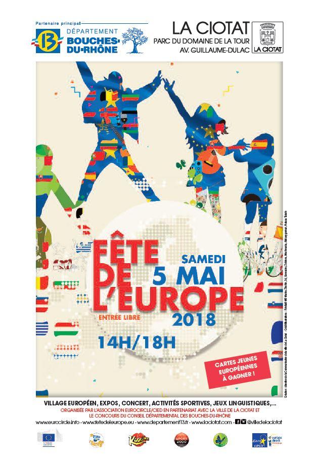 Programme Fêtes de l'Europe 2018