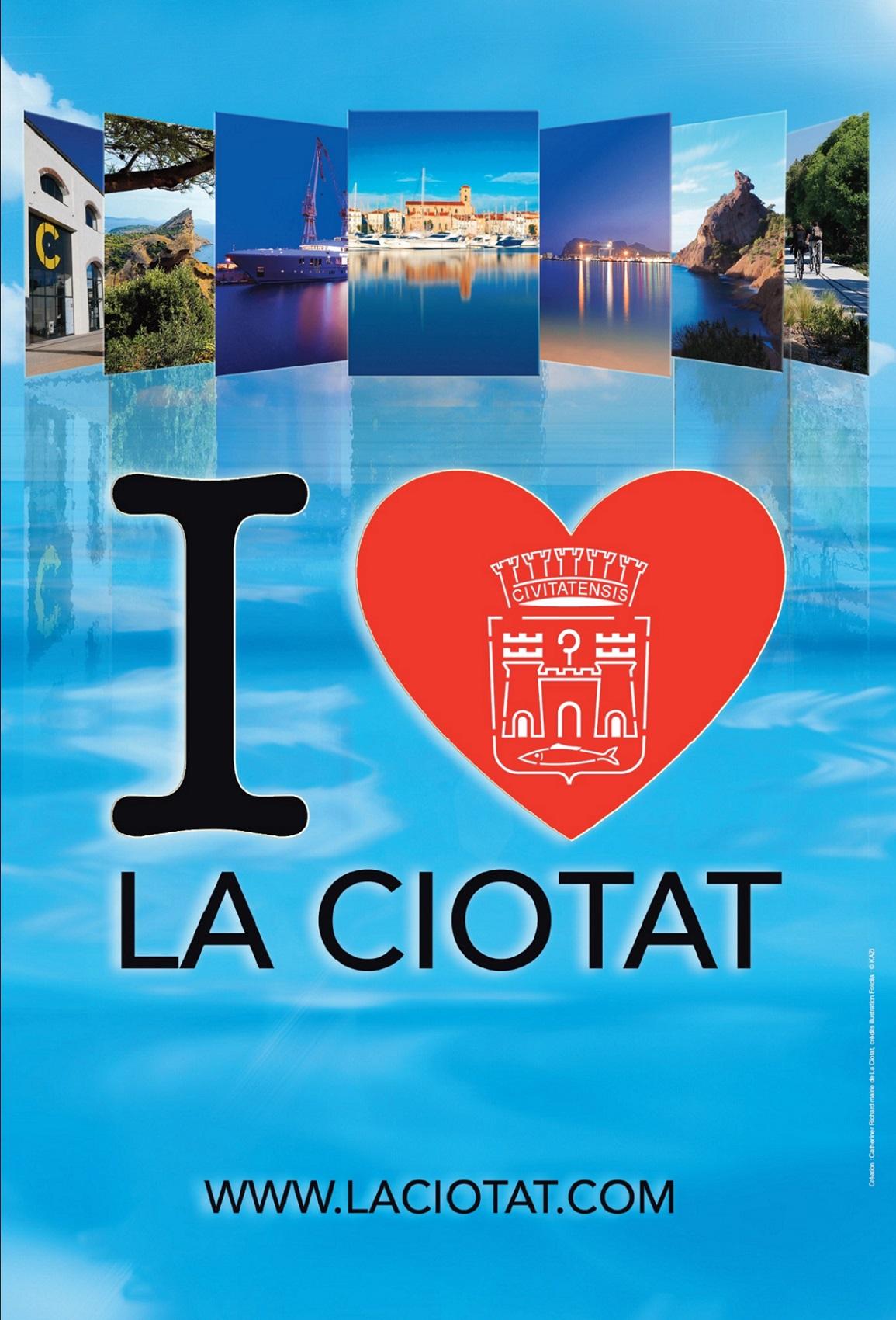 Affiche I Love La Ciotat