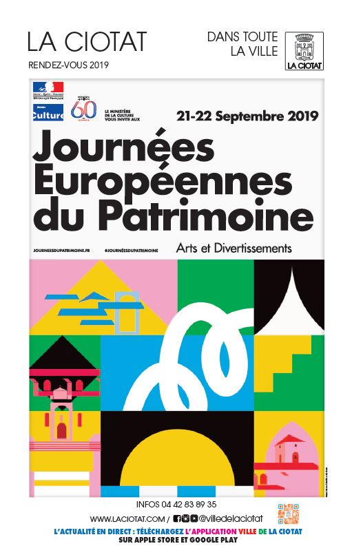 Programme journée du patrimoine 2019