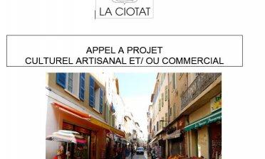 Appel à projet culturel et/ ou commercial