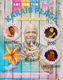 8ème édition Festival créole «Karaïb Plage»