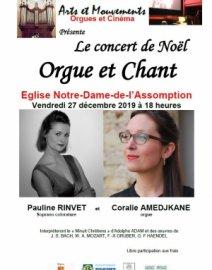 Concert de Noël Orgue et Chant