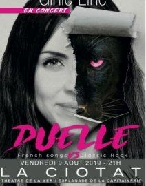 """Festival Codazur Ginie Line en Concert dans """"Duelle"""""""