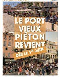 Le Port-Vieux piéton revient dès le 1er juin !