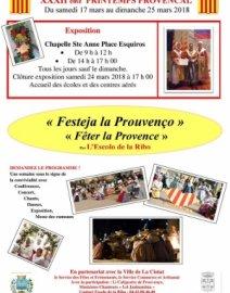Printemps provençal  «Fêter la Provence»