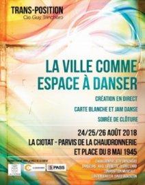 La Ville comme espace à danser - Du 24 au 26 août 2018