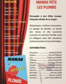 Théâtre  Maman pète les plombs.