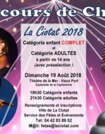 Grand concours de chant de la Ville de La Ciotat